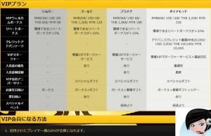 エンパイアカジノvippass詳細