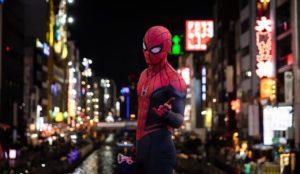 大阪の繁華街画像