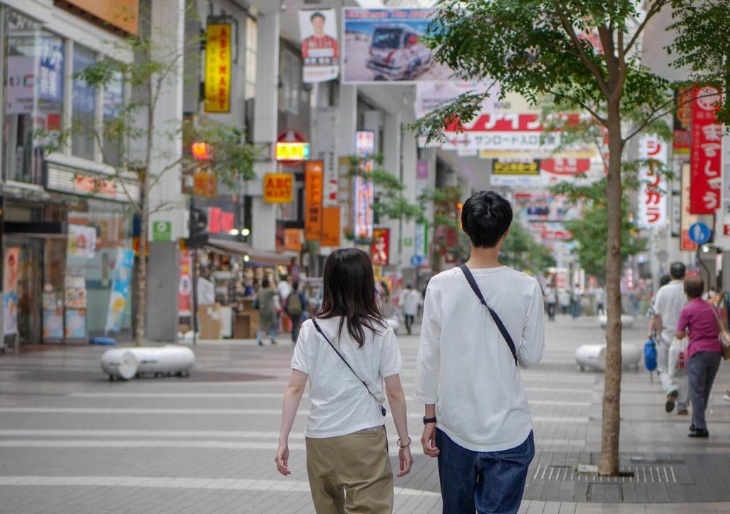熊本下通り画像